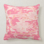 Pink Camouflage Pillows