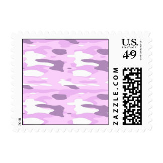 Pink Camouflage Postage