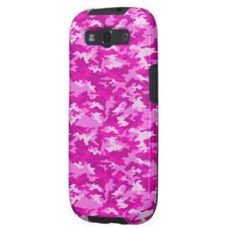 Pink Camouflage Samsung Galaxy Case