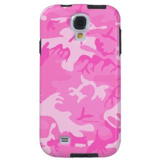 Pink camouflage Samsung Galaxy S4 Case