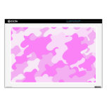 """Pink Camouflage Skins For 17"""" Laptops"""