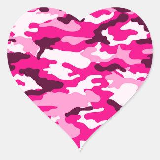 Pink camouflage Sticker