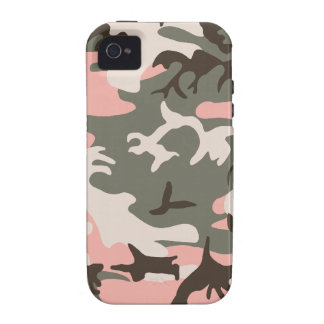 Pink Camouflage Tough™ iPhone 4 Case