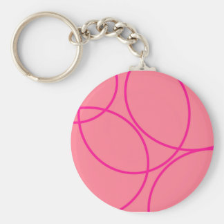 Pink-Canada-With-Curves Keychains