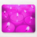 Pink Candles Mousepad