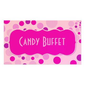 Pink Candy Business Card Templates