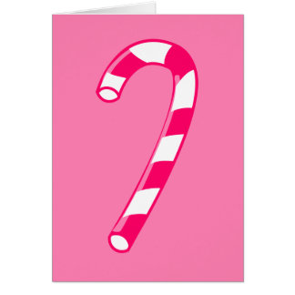 Pink Candy Cane Cards