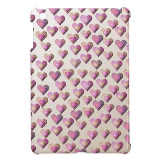 Pink Candy Hearts iPad Mini Case