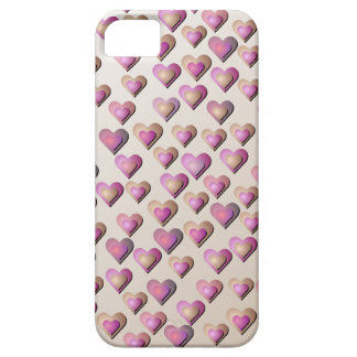 Pink Candy Hearts iPhone5 Case iPhone 5 Cases