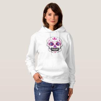 Pink Candy Skull Hoodie