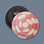Pink Candy Swirl Bottle Opener