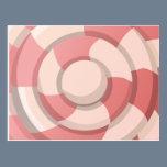 Pink Candy Swirl Postcard
