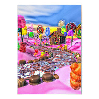 Pink Candyland Card