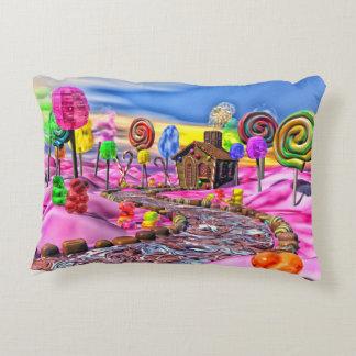 Pink Candyland Decorative Pillow