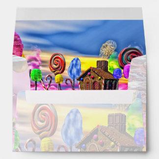 Pink Candyland Envelopes