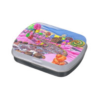 Pink Candyland Jelly Belly Candy Tin