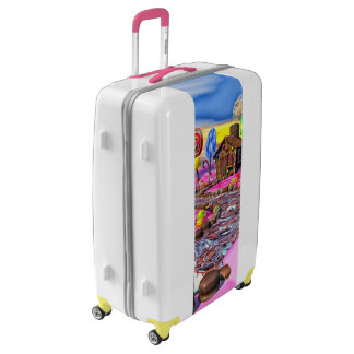Pink Candyland Luggage