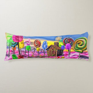 Pink Candyland Body Pillow