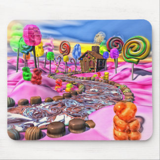 Pink Candyland Mouse Pad