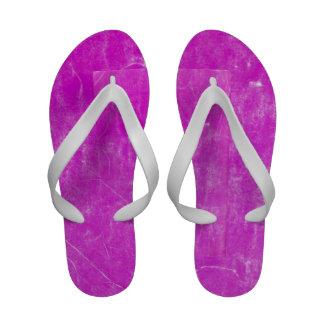 pink canvas flip flops