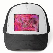Pink Canvas Trucker Hat