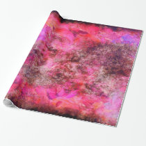 Pink Canvas Wrapping Paper