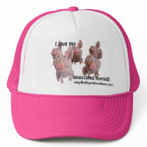 PINK CAP--love my desiccated thyroid! Trucker Hat