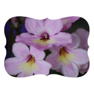 Pink Cape Primrose 5x7 Paper Invitation Card