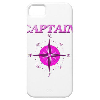 Pink Captain And Compass Rose iPhone 5 Cover