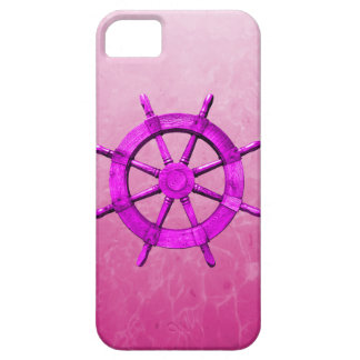 Pink Captain Wheel iPhone 5 Case