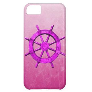 Pink Captain Wheel iPhone 5C Case