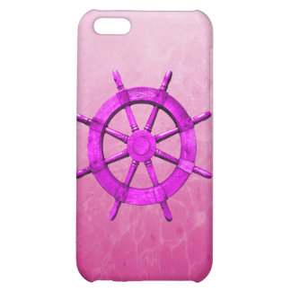 Pink Captain Wheel Cover For iPhone 5C
