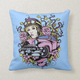 Pink car pillow