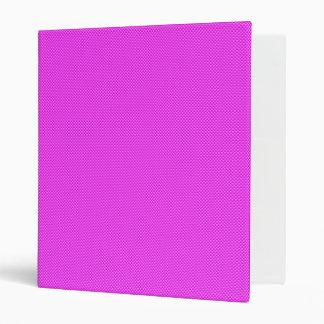 Pink Carbon Fiber Binder