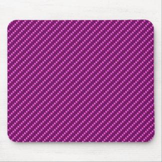 Pink Carbon Fiber Mouse Pad