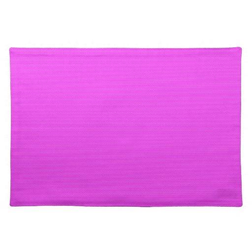 Pink Carbon Fiber Placemats
