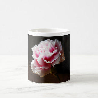 Pink Carnation Dianthus Flower Mugs