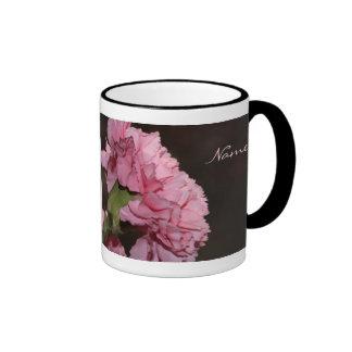 Pink Carnation Coffee Mugs