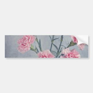 Pink Carnations Bumper Sticker