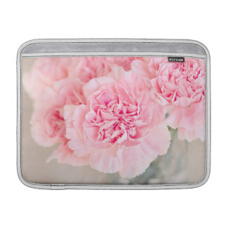 Pink Carnations MacBook Sleeve