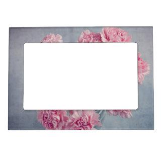 Pink Carnations Magnetic Frame