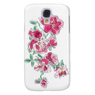 Pink Carnations Samsung S4 Case