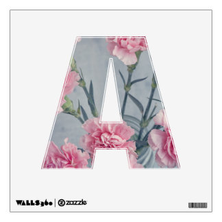 Pink Carnations Wall Sticker