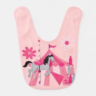 Pink Carnival Fun Bib