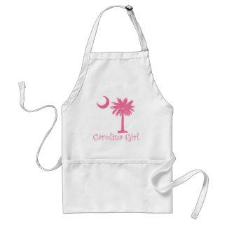 Pink Carolina Girl Palmetto Adult Apron