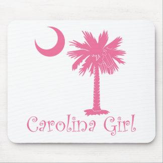 Pink Carolina Girl Palmetto Mouse Pad