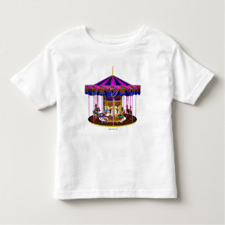 Pink Carousel Toddler Shirt