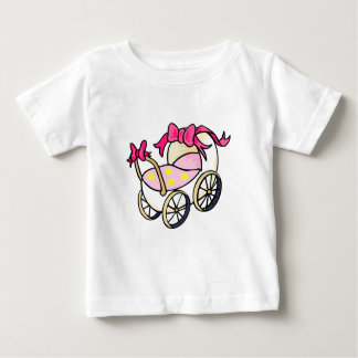 Pink carriage baby T-Shirt