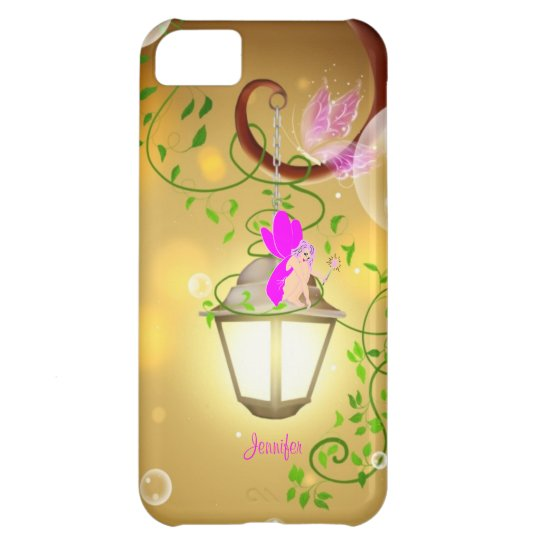 Pink Cartoon Fairy iPhone 5 Case