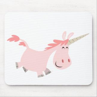 Pink Cartoon Unicorn mousepad